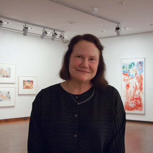 Kathleen Harleman, eighth director of Krannert Art Museum (2004–2017)