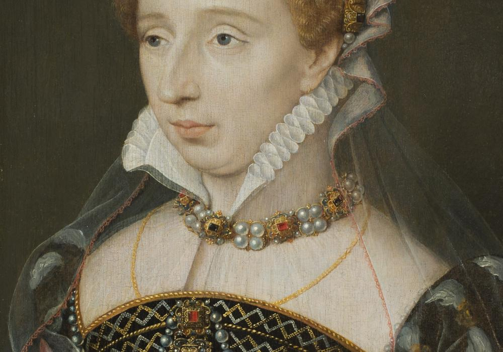 François Clouet, Portrait of Diane of France, Daughter of King Henri II, ca. 1555. Oil on panel. Gift of Merle J. and Emily N. Trees 1941-1-1