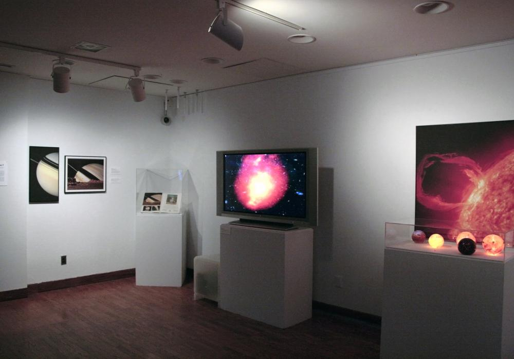 Astronomic!, installation at Krannert Art Museum, 2010.