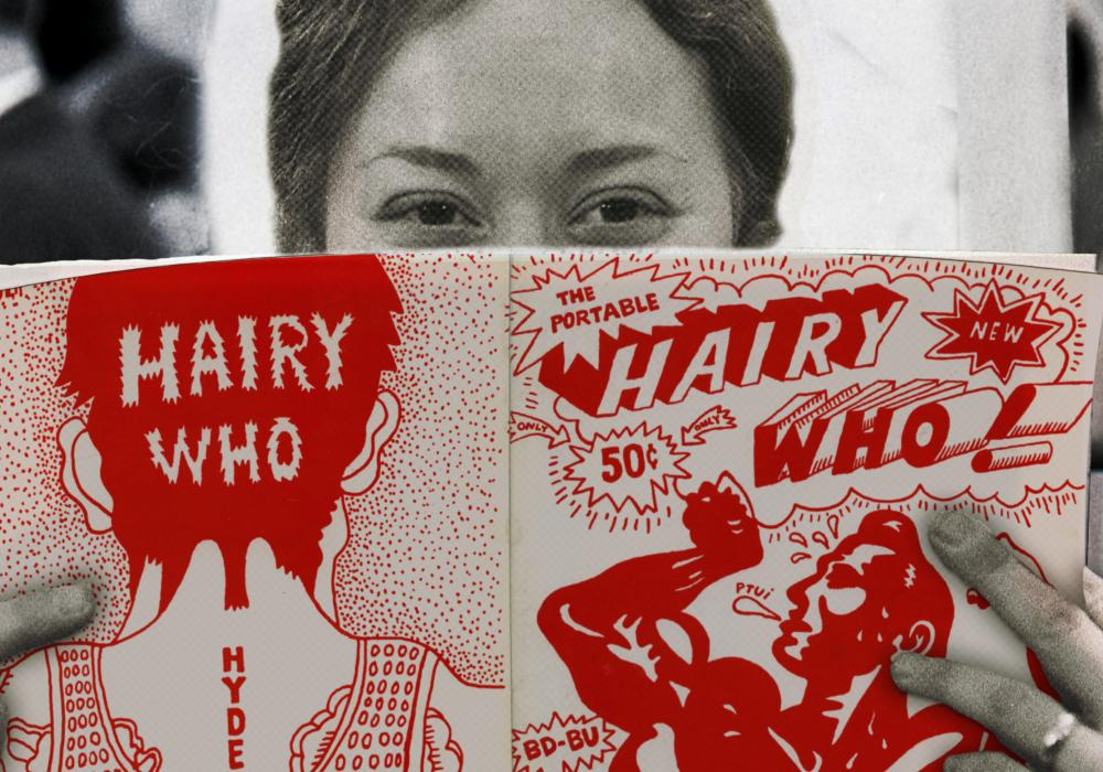 "Gladys Nilsson, 1966. (Still from ""Hairy Who & The Chicago Imagists,"" 2014.) Courtesy of Pentimenti Productions. Photo: William Arsenault"