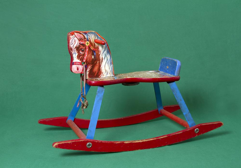 Kennedy Browne, The Wonder Years, 2013. Detail, one of 8 artifacts: The Rocking Horse (1956-BG). Courtesy of the artists © Kennedy Browne