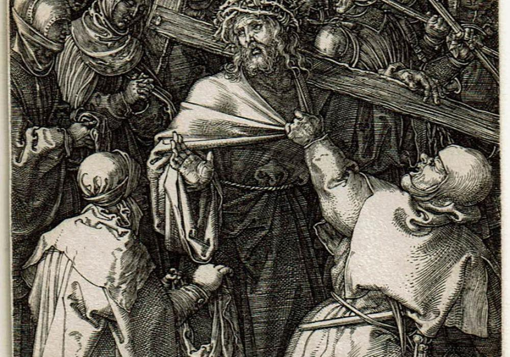 Christ Carrying the Cross (1512) by Albrecht Dürer