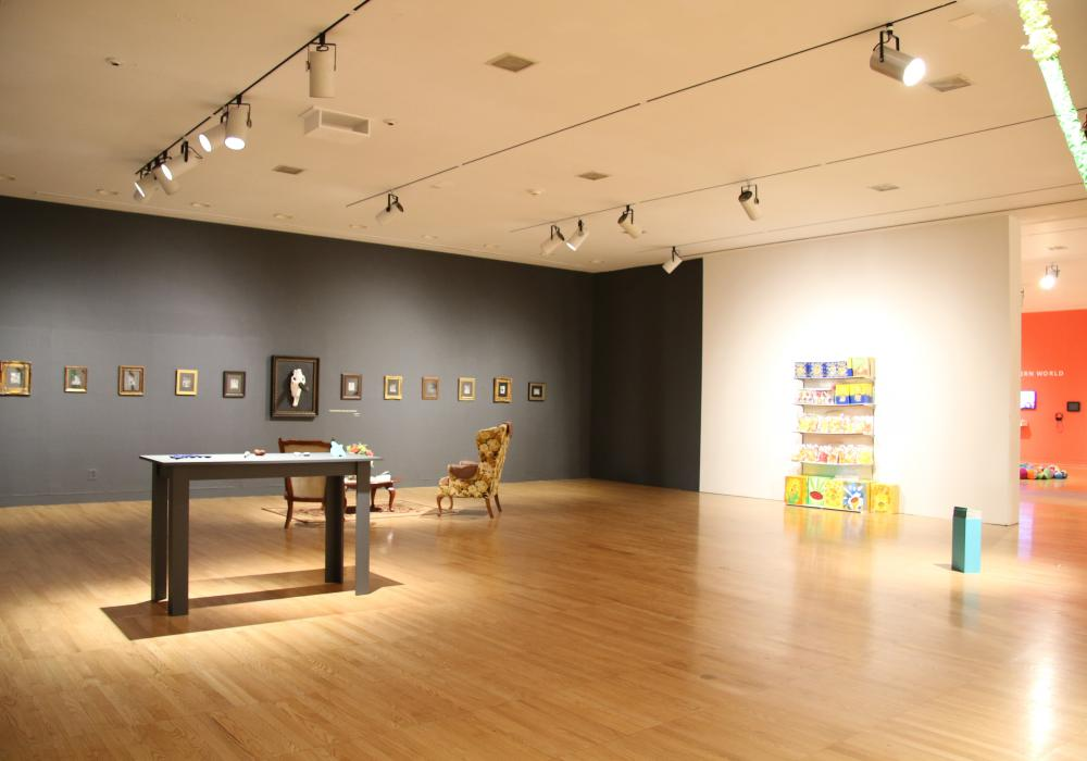 2015 Master of Fine Arts Exhibition, installation at Krannert Art Museum.