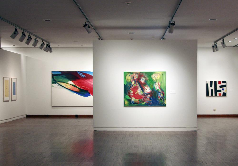Expressions In Color, installation at Krannert Art Museum, 2012.