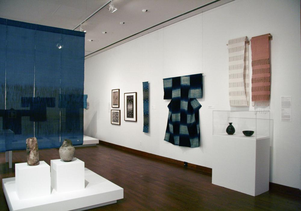 Fashion Traditions in Japan, installation at Krannert Art Museum, 2012.