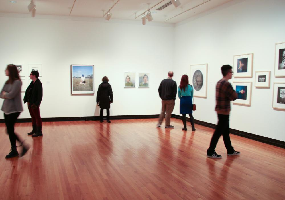 Collecting Photography, installation at Krannert Art Museum, 2016. Photo by Julia Nucci Kelly