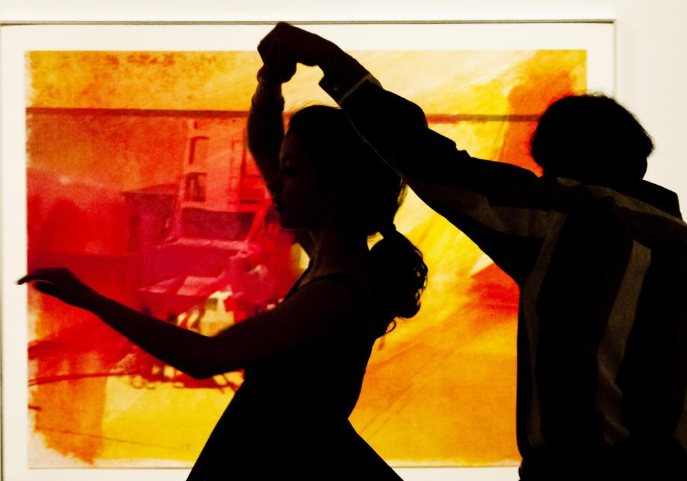 Tango at KAM in the Rosann Gelvin Noel Gallery, 2012. Photo by Brian L. Stauffer