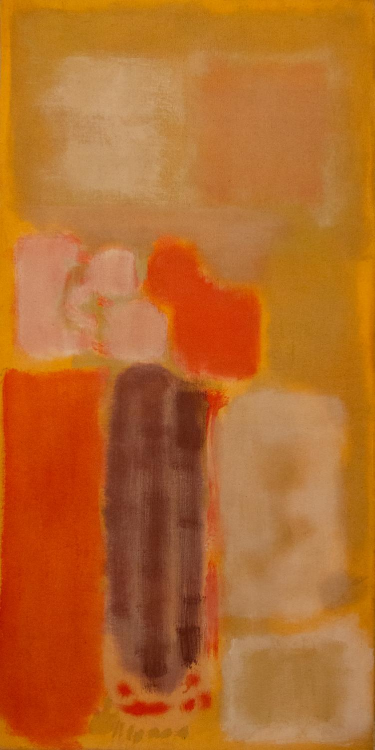 Mark Rothko, No. 13, 1949. Oil, canvas. Gift of Walter Bareiss 1955-16-1