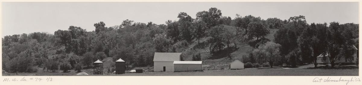 Art Sinsabaugh, Midwest Landscape #74, edition 1 of 3, 20th century. Gelatin silver print on paper. Museum purchase through the Art Acquisition Fund 1979-1-1.