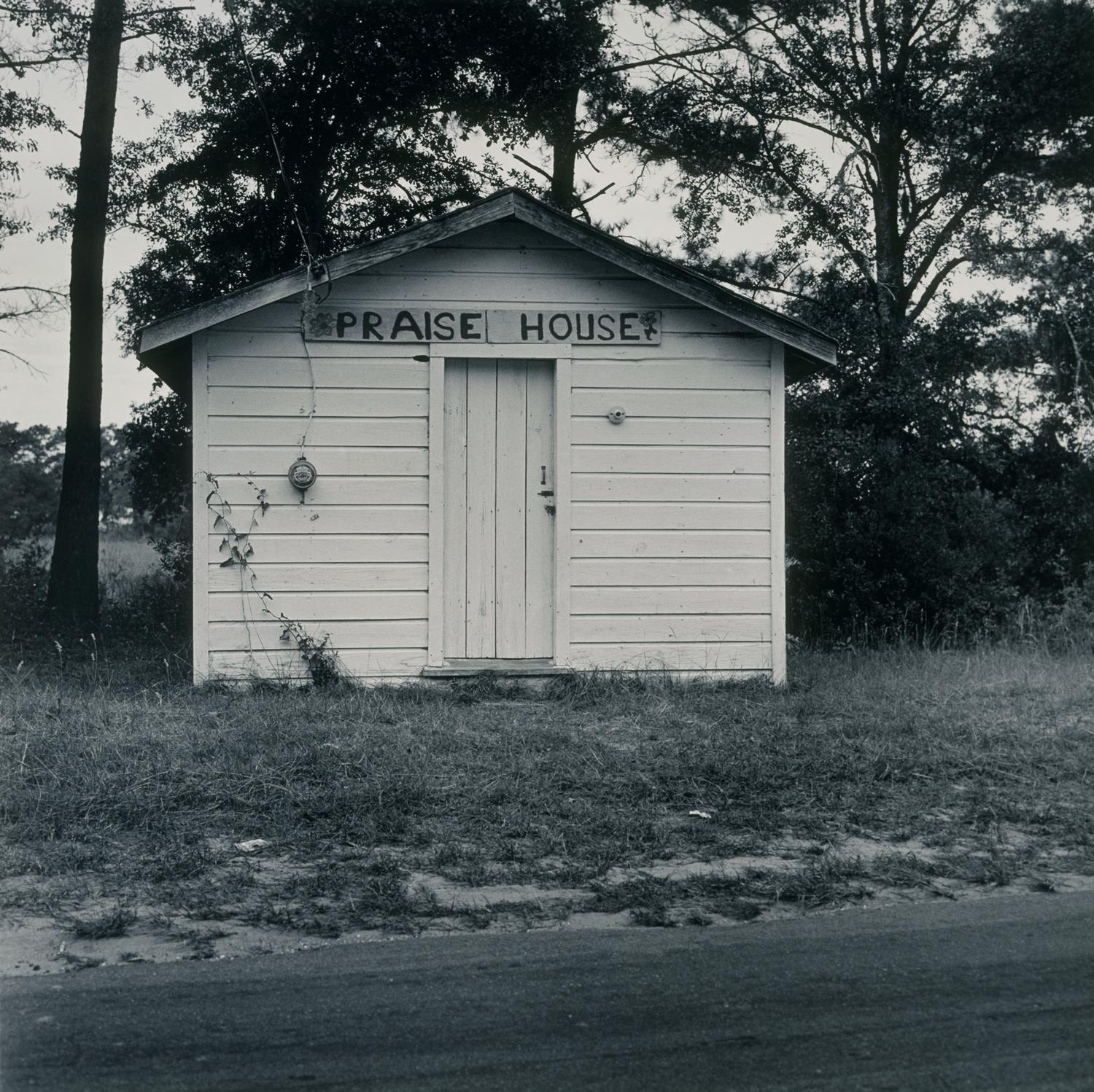 Carrie Mae Weems, Praise House, from the Sea Island Series, 1992. Silver gelatin print. Art Acquisition Fund 1997-5-2.1 © Carrie Mae Weems