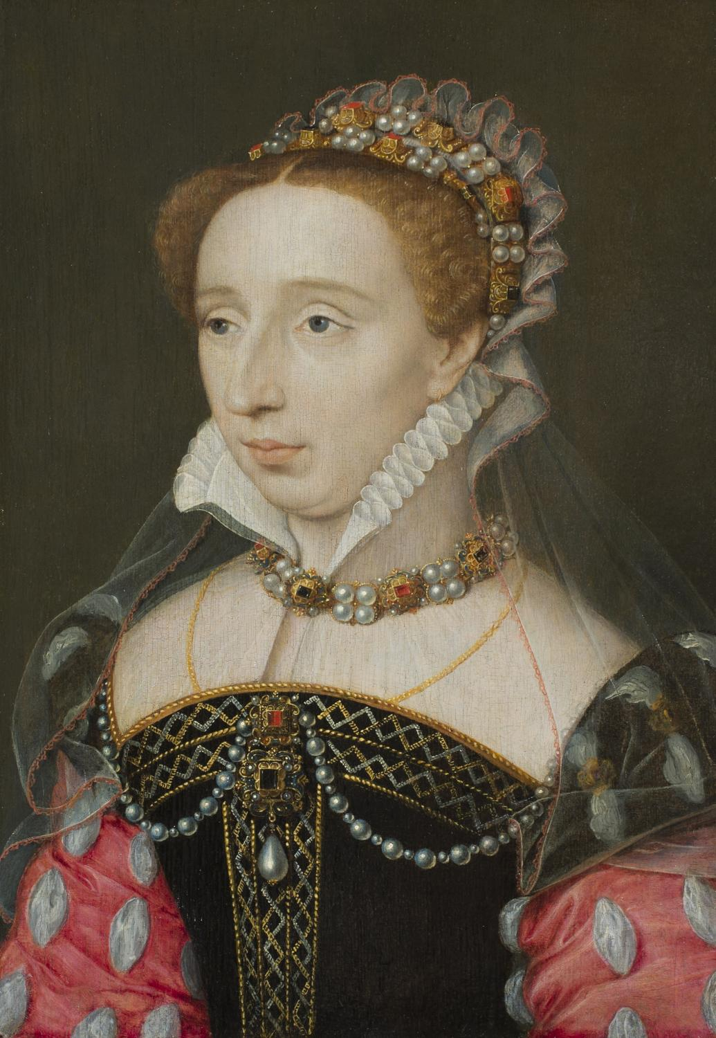 François Clouet (French, ca. 1516–1572), Portrait of Diane of France, Daughter of King Henri II, ca. 1555. Oil on panel. Gift of Merle J. and Emily N. Trees 1941-1-1