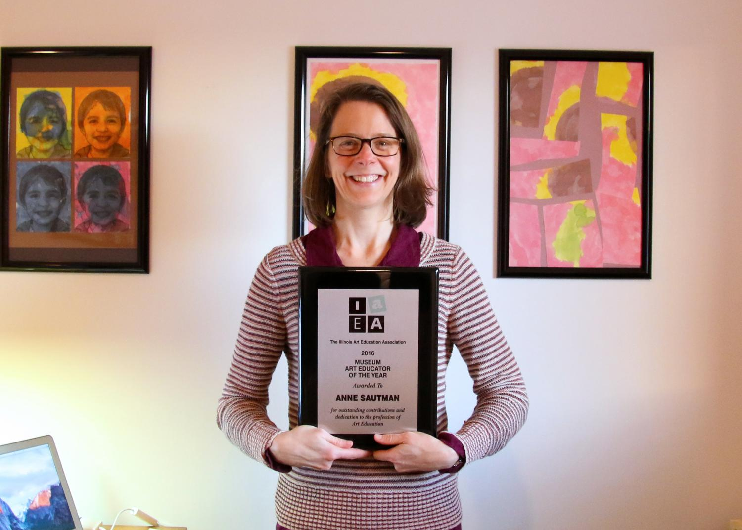 Krannert Art Museum Education Director Anne Sautman, 2016 IAEA Art Educator of the Year