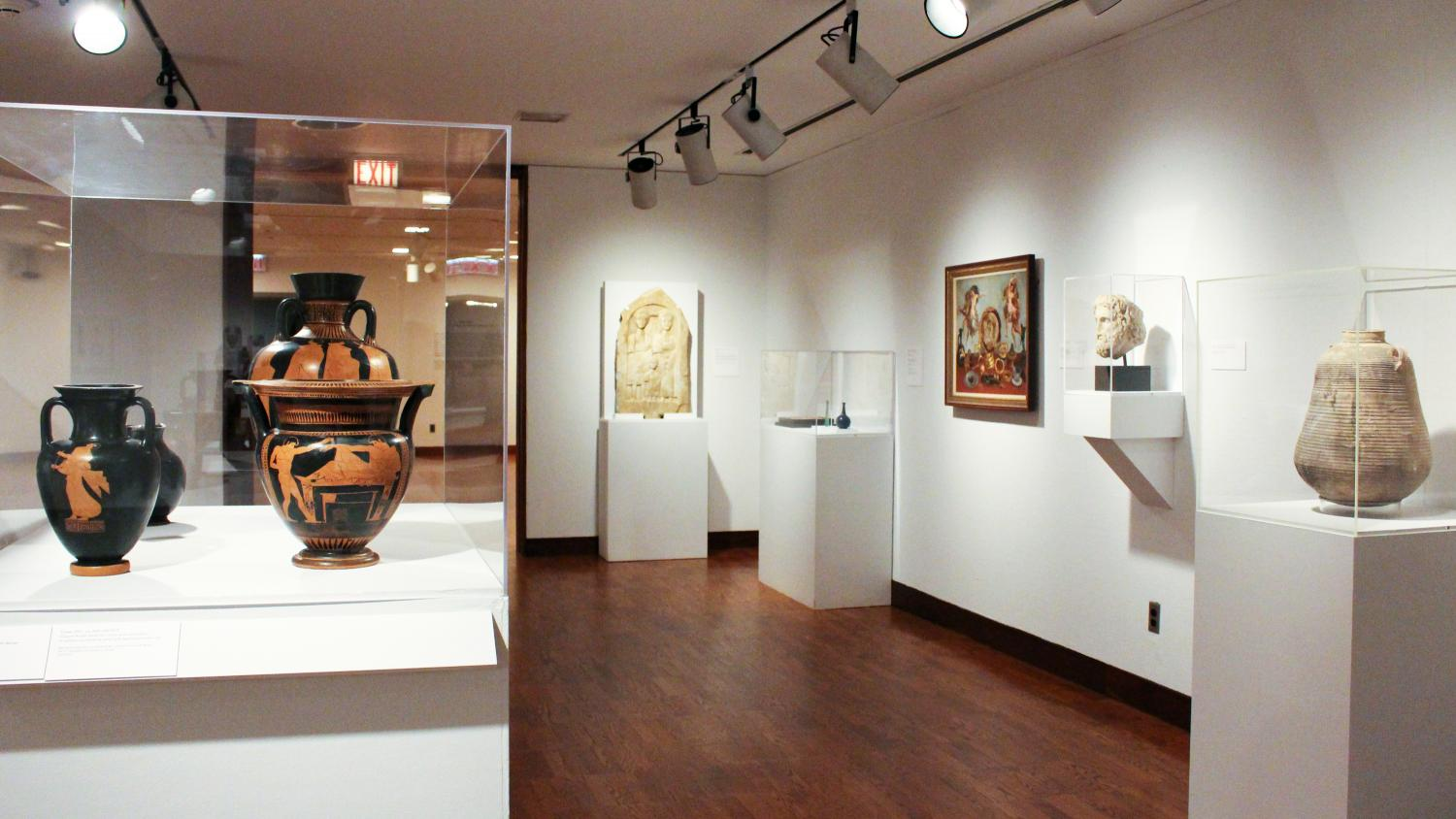 Ancient Mediterranean Gallery at Krannert Art Museum, 2015.