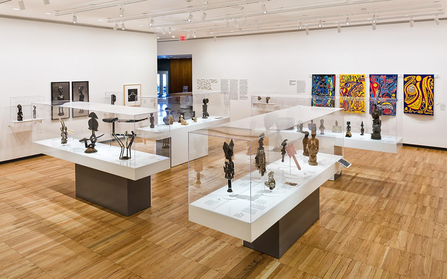 Encounters: The Arts of Africa, installation view at Krannert Art Museum, 2012. Photo by Chris Brown