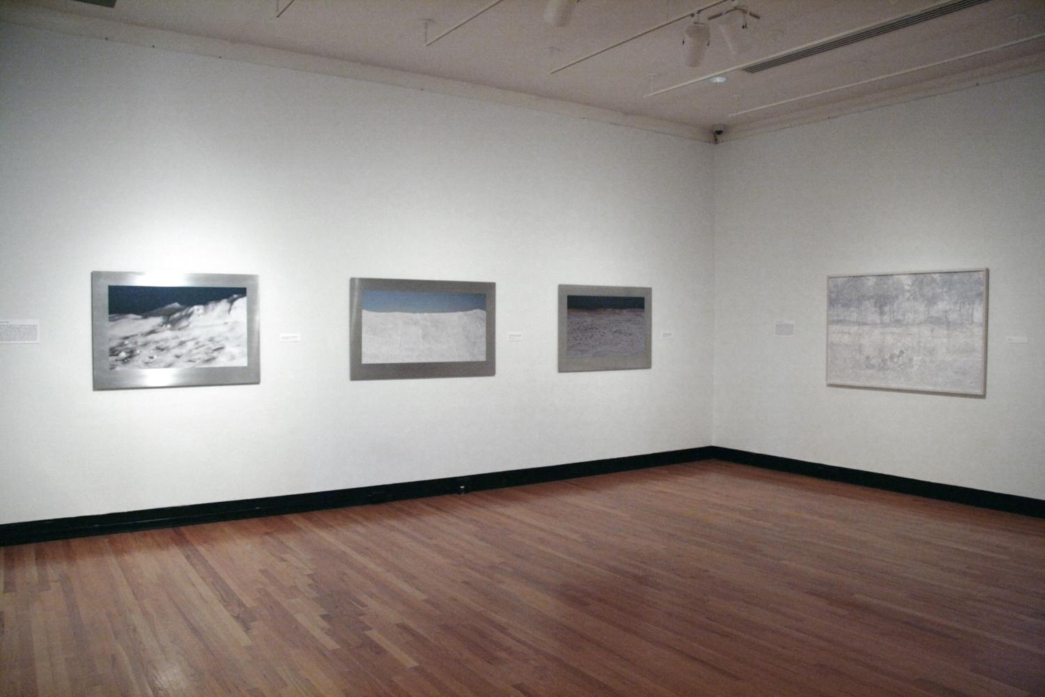 Allan deSouza: The Farthest Point, installation at Krannert Art Museum, University of Illinois at Urbana-Champaign, 2010.