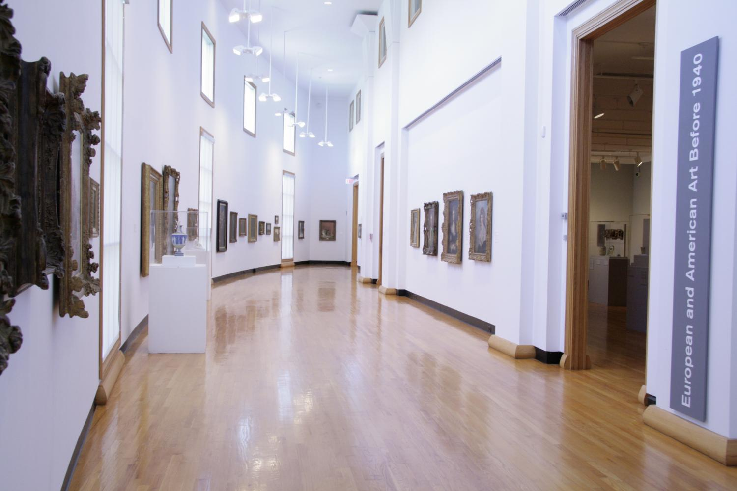 Bow Gallery at Krannert Art Museum, 2013.