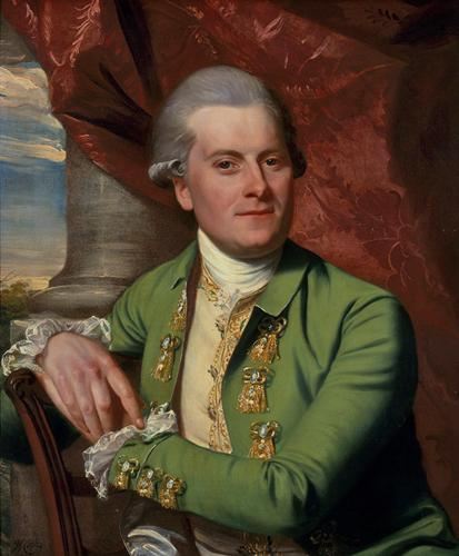 John Singleton Copley, Nathan Hyde, Squire of Hyde, 1777. Oil on canvas. Gift of Merle J. and Emily N. Trees 1945-1-1