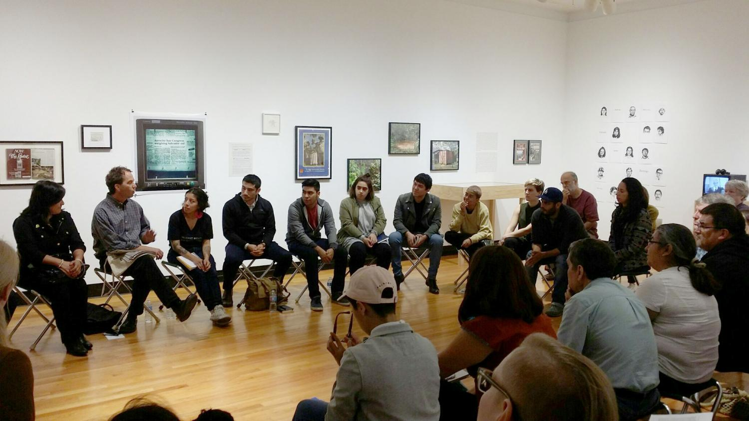Borderlands: Resisting ICE in the Midwest was organized by Anthropology Leaders as part of their Taboo Talk series, focused on issues of racism, migration, identity and justice.