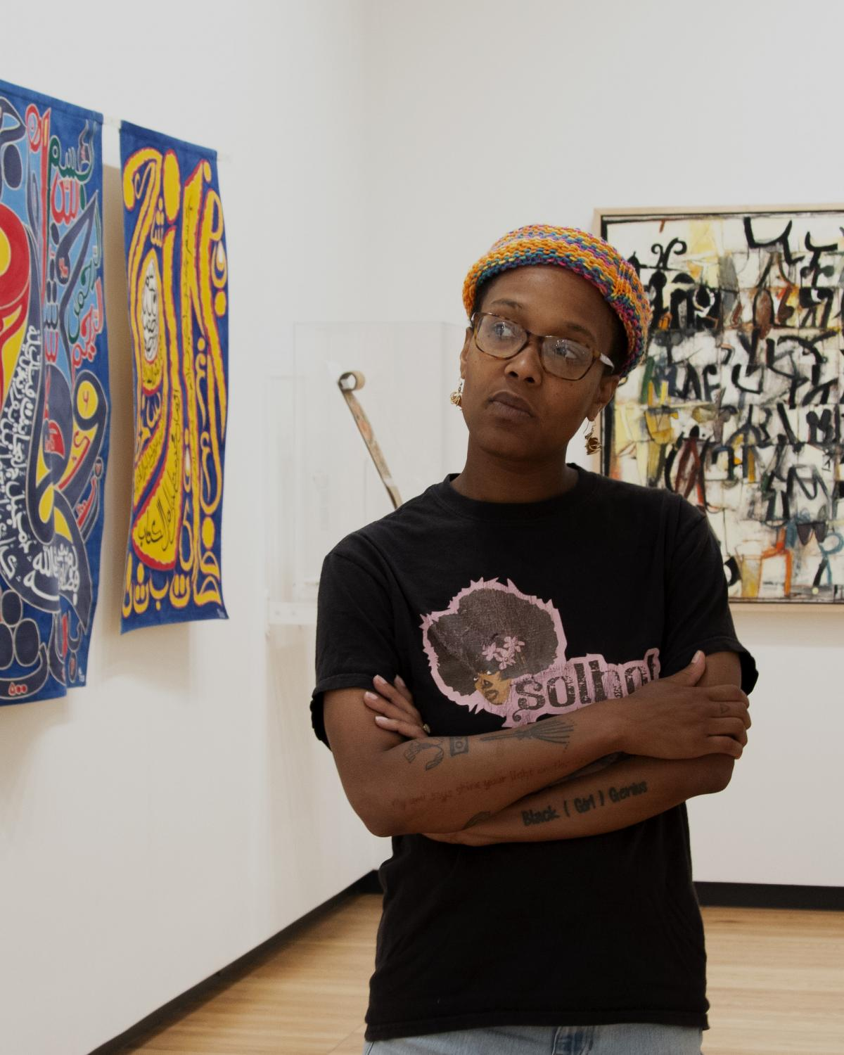 Blair Ebony Smith, DRIVE Postdoctoral Fellow at the University of Illinois at Krannert Art Museum, 2019.