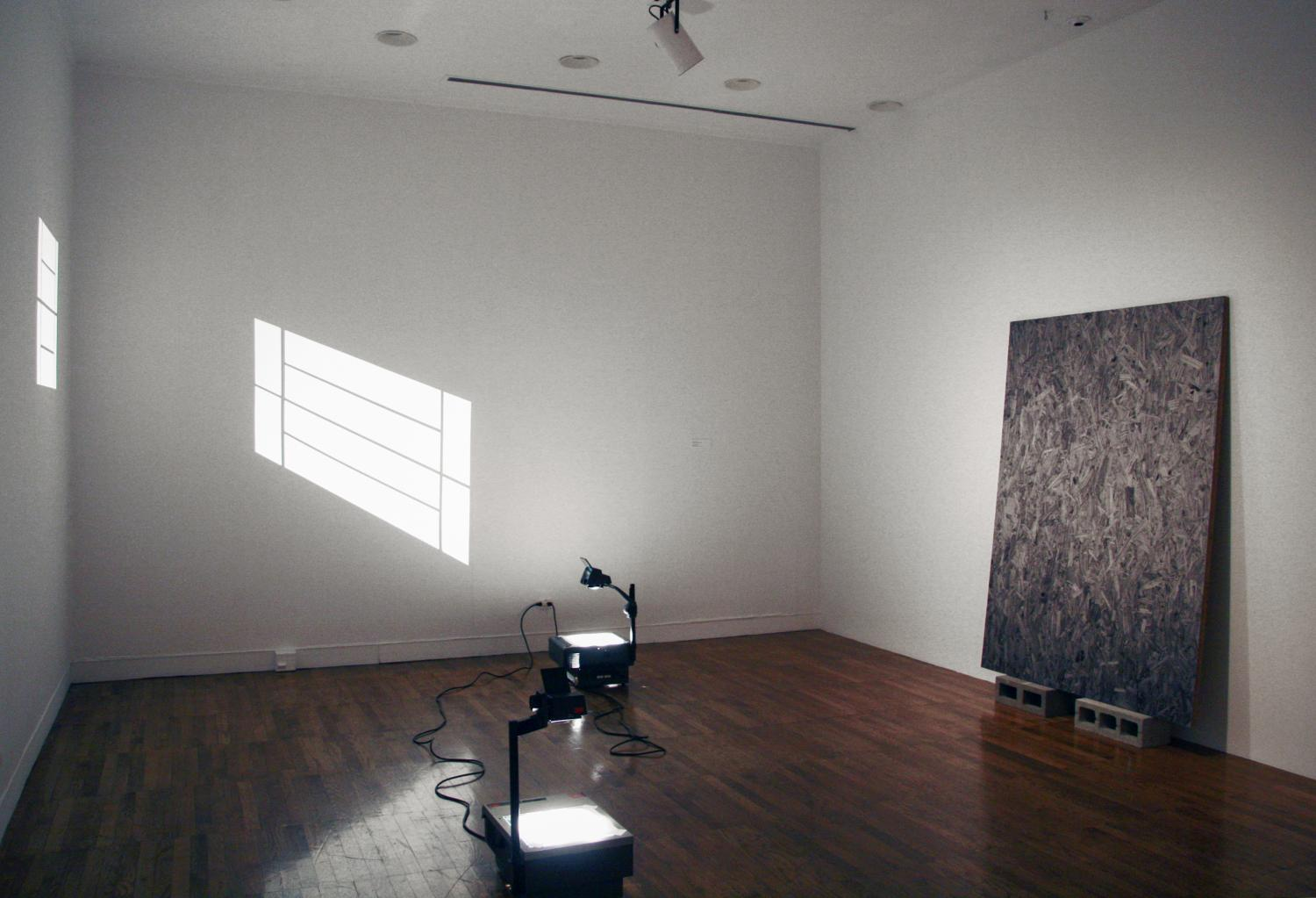 Blind Field, installation at Krannert Art Museum, 2013.