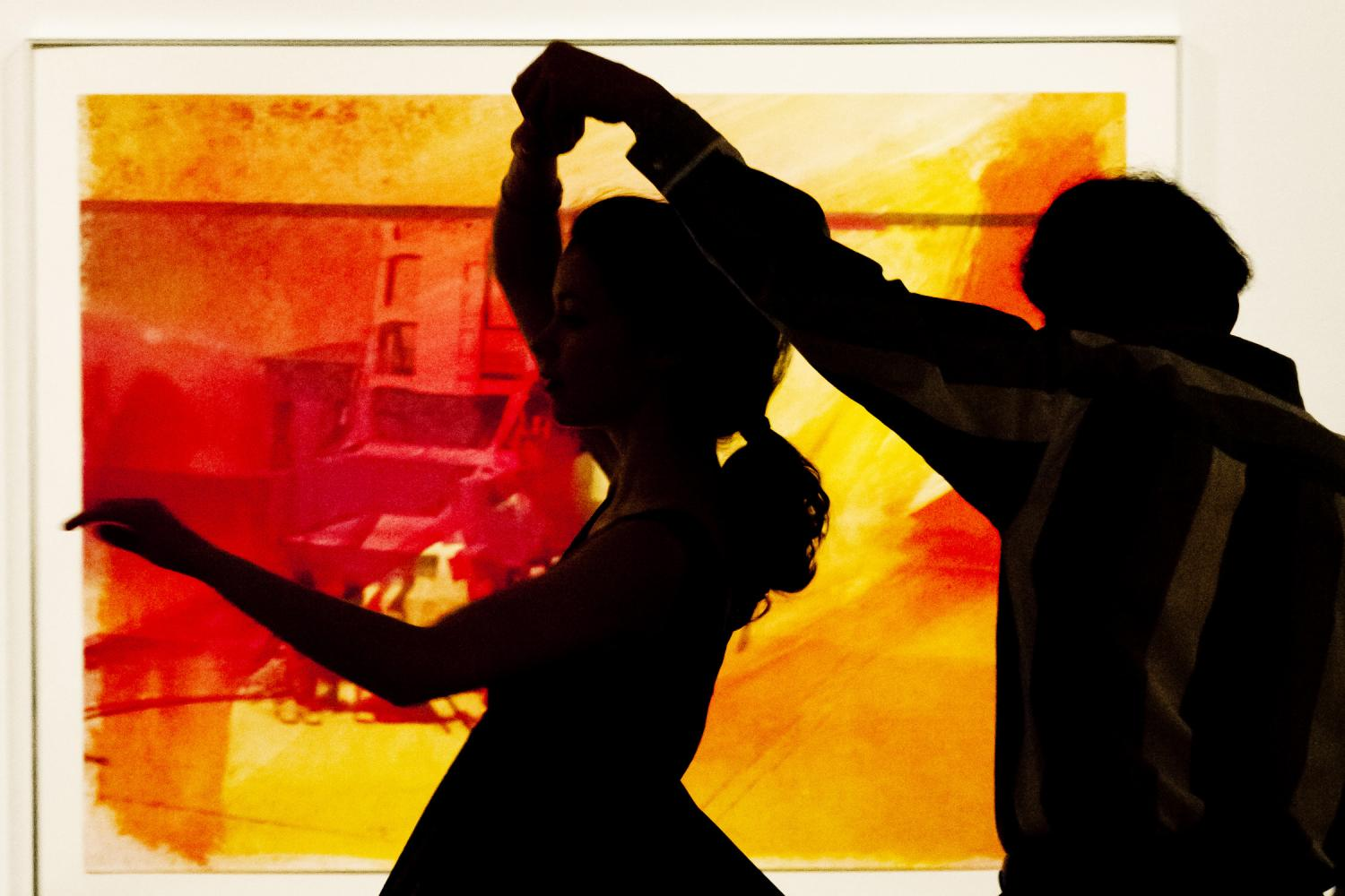 Tango at KAM in the Gelvin Noel Gallery, 2012. Photo by Brian L. Stauffer