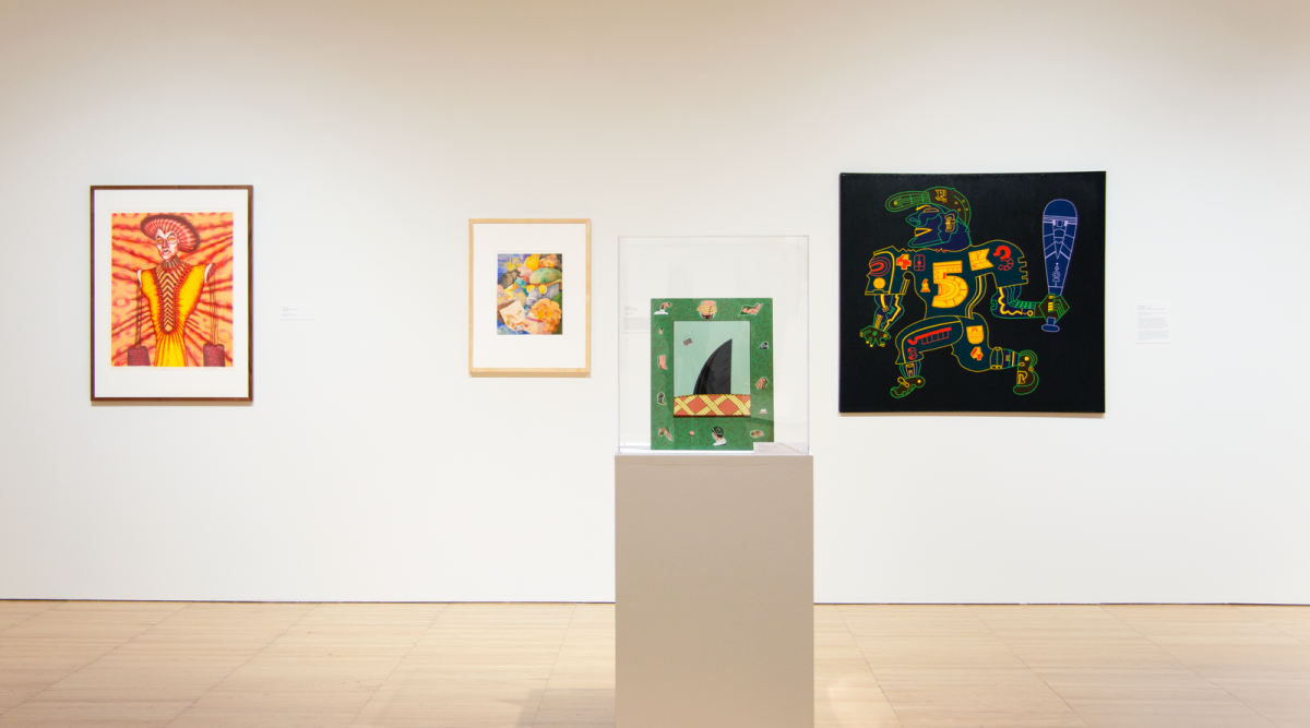 Between the Buildings: Art from Chicago, installation at Krannert Art Museum, 2018. Presented as part of Art Design Chicago, an initiative of the Terra Foundation for American Art and their presenting partner The Richard M. Dreihaus Foundation. © Board of
