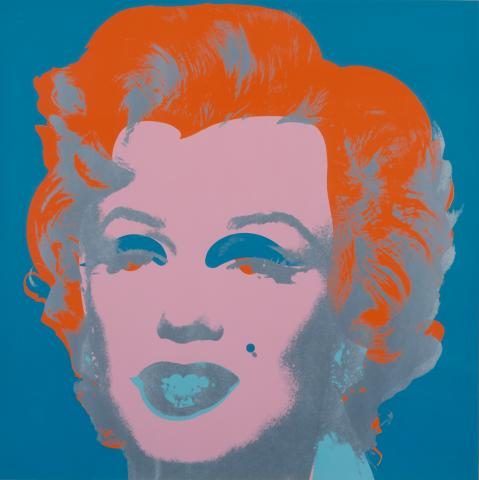 Andy Warhol. Marilyn, 1971. Silkscreen. Museum purchase through the John Needles Chester Fund 1983-8-1