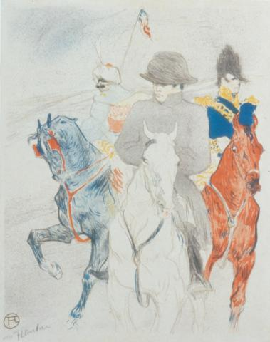 Henri de Toulouse-Lautrec, (Albi, France, 1864–1901, Langon, France), Napoléon, 1895. The William Sparling Kinkead Collection of Toulouse-Lautrec Art 1984-44-6